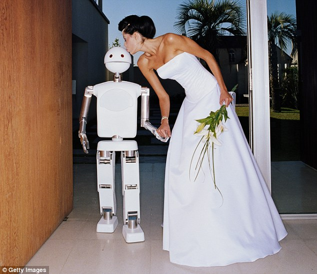 robot getting married